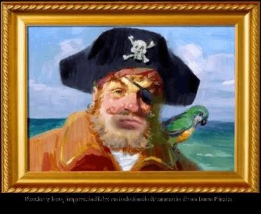 Pirata con su loro